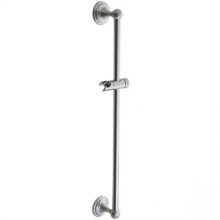 Asbury Handshower Slide Bar Mount - Unlacquered Brass