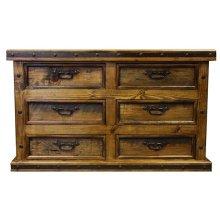 Dresser W/Wood Panels
