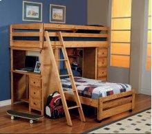 Twin / Twin Workstation Loft Bed