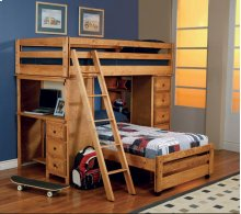 Twin / Twin Workstation Loft Bed