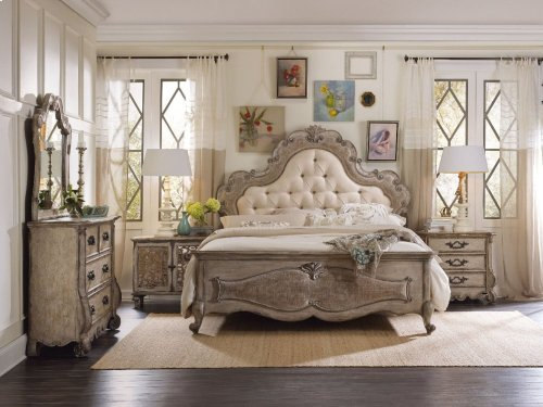Chatelet King Upholstered Panel Bed