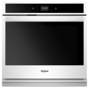 5.0 cu. ft. Smart Single Wall Oven with Touchscreen - WHITE