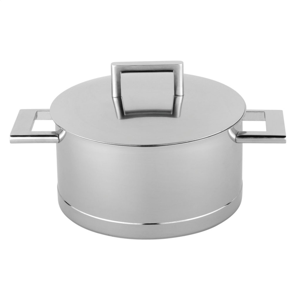 Demeyere John Pawson 7-Ply 5.5-qt Stainless Steel Dutch Oven