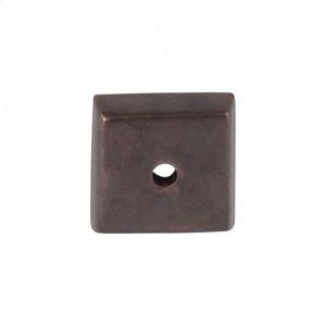Aspen Square Backplate 7/8 Inch - Medium Bronze