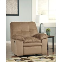 Signature Design by Ashley Mercer Rocker Recliner in Mocha Fabric