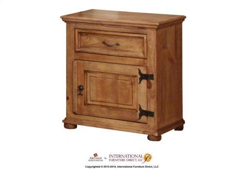 Right Nightstand w/Door, 1 Drawer