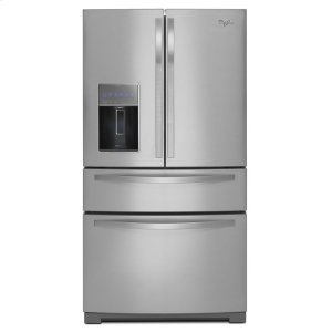 WHIRLPOOL36-inch Wide 4-Door Refrigerator with More Flexible Storage