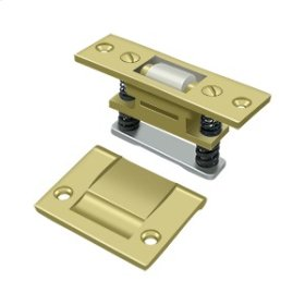 Roller Catch, HD - Polished Brass