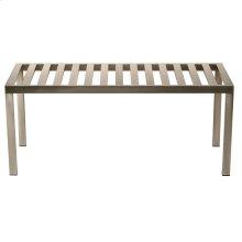 Metal bench