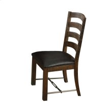 Emerald Home Castlegate Side Chair With Bonded Leather Seat Pine D942-20