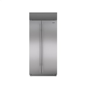 "Subzero36"" Built-In Side-by-Side Refrigerator/Freezer"