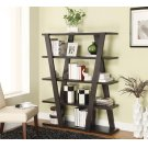 Contemporary Cappuccino Bookcase Product Image