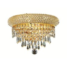 1802 Primo Collection Wall Sconce Gold Finish