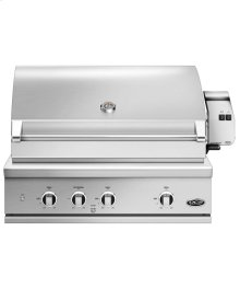 """36"""" Grill Series 9, Rotisserie and Charcoal (lpg)"""