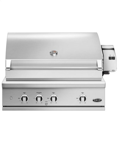 """36"""" Grill Series 9, Rotisserie and Charcoal Product Image"""