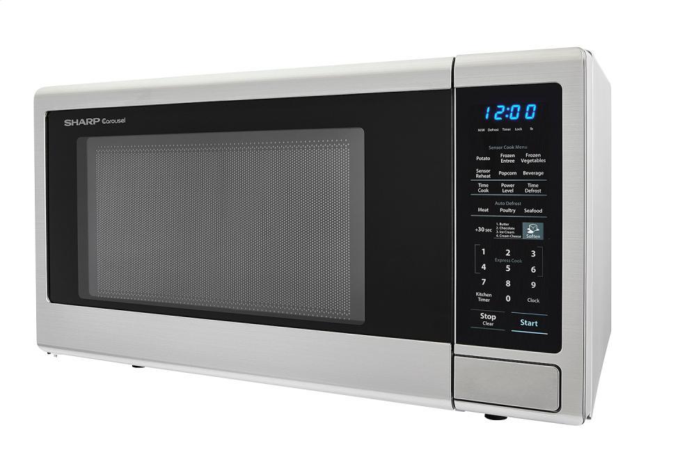 Smc1842cs Sharp Appliances 1 8 Cu Ft 1100w Sharp