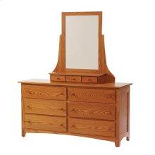 "Elizabeth Lockwood 48"" Dresser- Mirror"