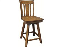 Canyon Swivel Stool in Pecan