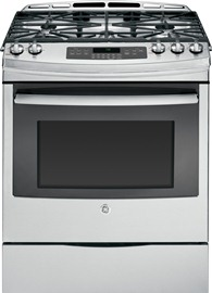 """30"""" Self-Cleaning Gas Convection Range"""