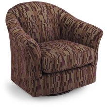 DARBY Swivel Barrel Chair