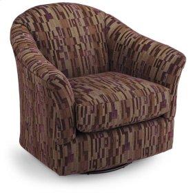 DARBY Swivel Barrel Chair