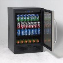 Beverage Cooler with Glass Door