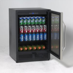 AvantiBeverage Cooler with Glass Door