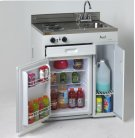 """30"""" Complete Compact Kitchen with Refrigerator Product Image"""