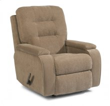 Kerrie Fabric Swivel Gliding Recliner