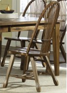 Sheaf Back Side Chair - Oak Product Image