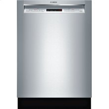300 Series built-under dishwasher 24'' Stainless steel SHEM63W55N