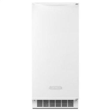 White KitchenAid® 15'' Automatic Ice Maker
