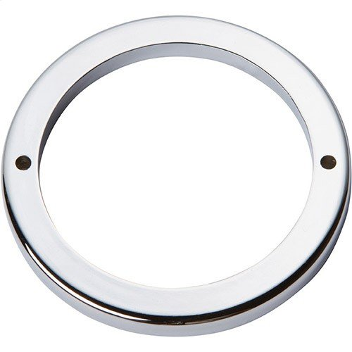 Tableau Round Base 3 Inch - Polished Chrome