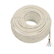 100 foot in-wall round line cord
