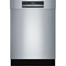 """800 Series 24"""" Recessed Handle dishwasher HC Stainless steel"""