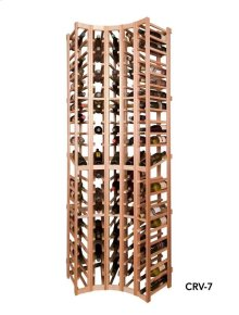 Apex 7' Curved Corner Modular Wine Rack