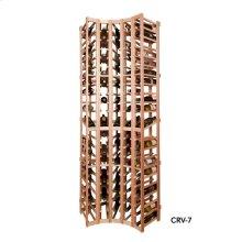 Apex 7' Curved Corner Modular Wine Rack