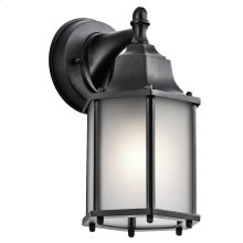 Chesapeake Collection Chesapeake 1 Light Outdoor Wall Lantern BK