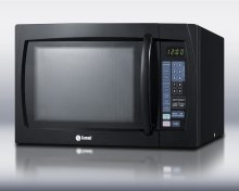 Large 1000 Watt Microwave In Black