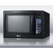 Large 1000 Watt Microwave In Black