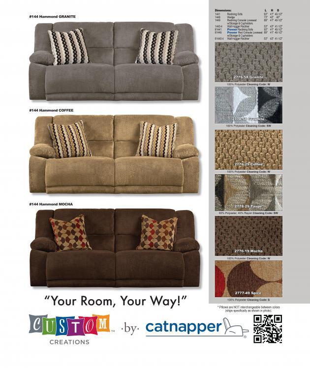 Charmant Power Reclining Sofa