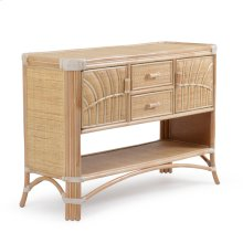 Rattan Console Table Natural 5504