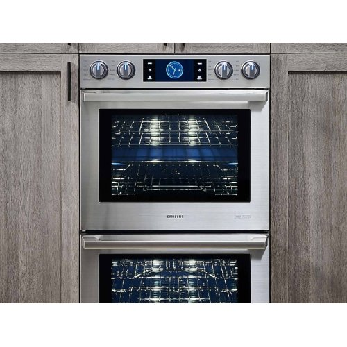 """30"""" Chef Collection Double Wall Oven with Flex Duo"""