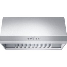 36-Inch Professional Wall Hood with 24-Inch Depth PH36HS