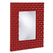 Justin Mirror - Glossy Red