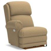 Kirkwood PowerReclineXR® Right-Arm Sitting Reclina-Rocker® Recliner w/ Brass Nail Head Trim