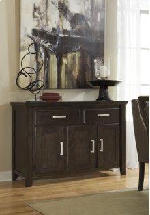 Dining Room Server Lanquist - Dark Brown Collection Ashley at Aztec Distribution Center Houston Texas