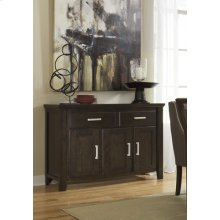 Dining Room Server Lanquist - Dark Brown Collection Ashley at Aztec Distribution Center Houston Texas
