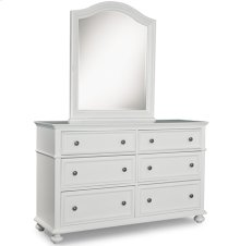 Red Hot Buy!- Be Happy Madison Dresser & Arched Dresser Mirror