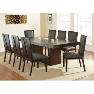"""Steve Silver Co.Antonio Dining Table Base, 31""""H"""
